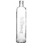 Drink it Sklenená fľaša s neoprénovým obalom Asketa Šedej 500ml