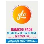 GLO Inkontinenční vložky z bio bambusu s křidélky Normal 12 ks