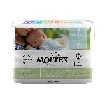 Moltex Pure and Nature Eko plienky Pre novorodencov 2-4 kg 22 ks