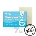 Friendly Soap přírodní mýdlo na vlasy máta a eukalyptus 7ks zero waste balení