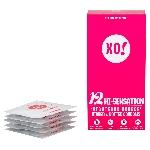 XO Kondom z přírodního latexu Hi Sensation 12 ks